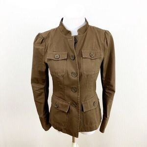 Kut From The Kloth Light Brown Military Jacket, S